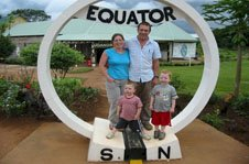 Equator - local foods and crafts