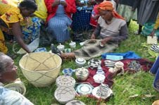 Traditional basket making