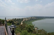 View of the Kazinga Channel